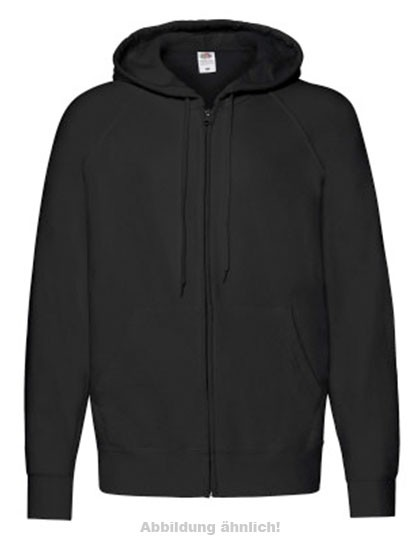 Lightweight Hooded Sweat Jacke mit TVI - Motiv