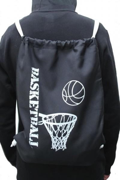 TVI Bagpack mit Basketball & Korb - Motiv