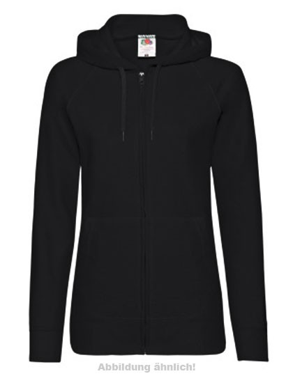 Lightweight Hooded Sweat Jacke Lady mit TVI - Motiv